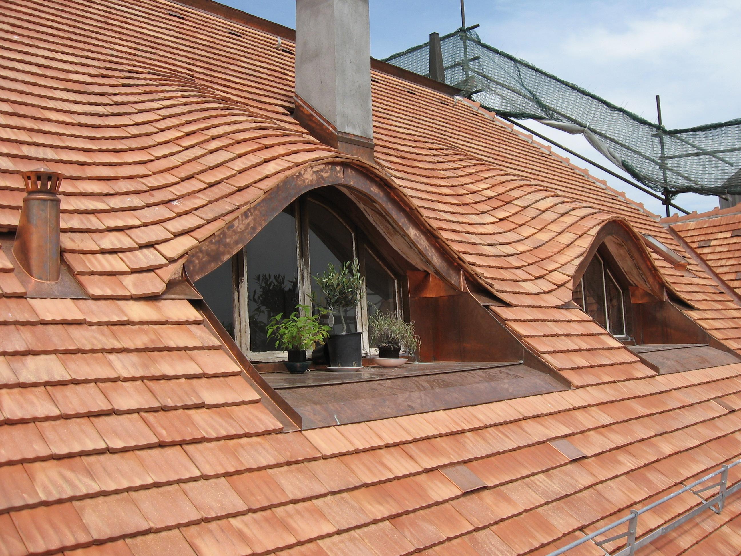 Couverture des toitures